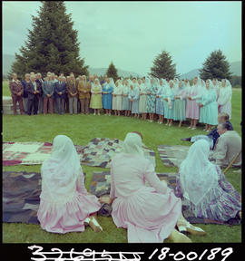 Doukhobor choir, Grand Forks