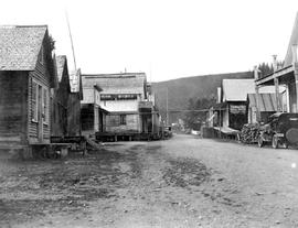 View Of Street At Barkerville