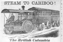 Cariboo Road steam tractors.