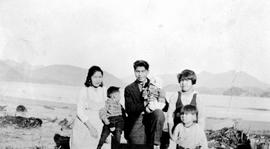 A young family at Ahousaht