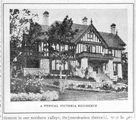 """A typical Victoria residence""; location undetermined."