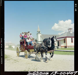 Stagecoach Ride, Fort Steele