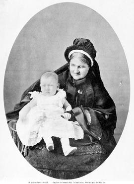 Lady Douglas and grandchild.