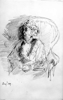 [Portrait Of An Older Woman - Sarah Crease?]