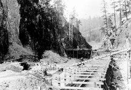 """Nanaimo Dam construction, 14th Aug 1931"", No. 42."
