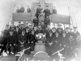 The ship's company of the A.P.S. Galiano.