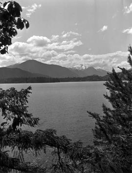 Mount Klitsa, Sproat Lake, Vancouver Island.