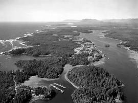 Aerial Of Ucluelet
