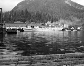 Butedale.  S.S. Chilcotin