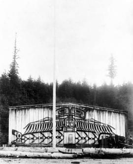 A First Nations longhouse [Alert Bay]