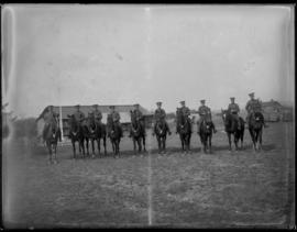 143rd Battalion soldiers on horseback