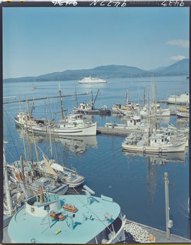 Fish Boats And Queen Of Prince Rupert In Harbour