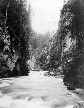 """Albert Canyon From Below Illecillewaet Valley, Selkirks""."
