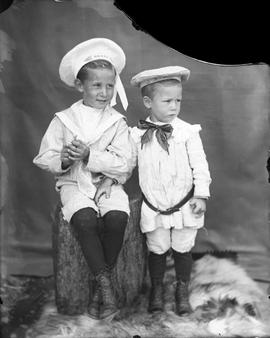 Two unidentified boys.