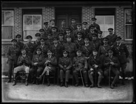 Military officers of William Head Quarantine Station