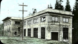 Canadian Collieries Limited (Dunsmuir), exterior Puntledge power plant