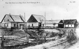 """The Old Hudson's Bay Fort, Fort George, BC""."