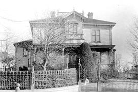 Hollybank, the home of Robert Paterson Rithet, 952 Humboldt Street, Victoria; built 1875.