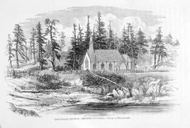 """Esquimalt church, British Columbia; from a photograph""; St. Paul's."