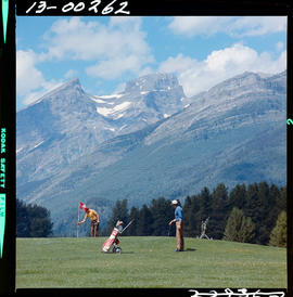 Playing Golf, Fernie
