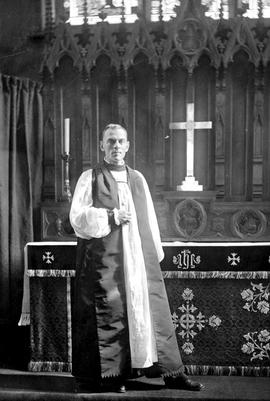 Alexander John Doull, later first Bishop of the Anglican diocese of Kootenay, 1914-1933.