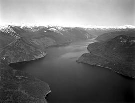 Aerial Of Quesnel Lake