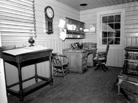 Barkerville Interior Of Gold Commissioners Office