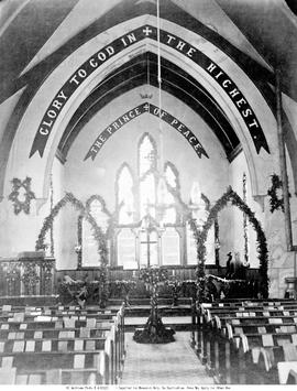 Interior, St. Paul's Naval Church, Esquimalt.