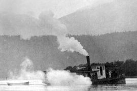 The First SS Maude Annis On Shuswap Lake.