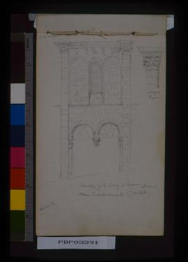 One Bay Of E. Side Of St. Saveur, Dinan.