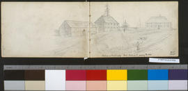 Interior Of Fort Langley Gard [?] Looking S. Showing 'The Hall'.