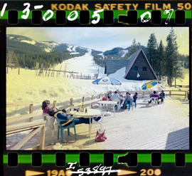 Panorama Mountain Village; deck at ski facilities.