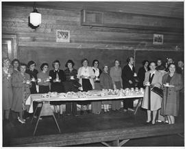 Women's Auxiliary to Chemainus Civil Defence Committee serve refreshments after civil defenc...