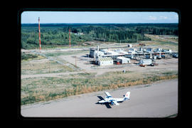 Aerial. Gas Refinery, Fort St. John