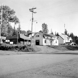 Forest Service Ranger Station, Burns Lake.