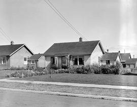 War time housing at 27 Pilot Street in James Bay, Victoria