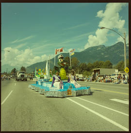 Squamish Loggers Day Parade