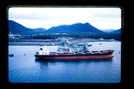 Ridley coal port; first ship to Japan.