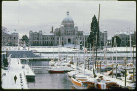 Inner Harbour And Legislative Buildings Victoria