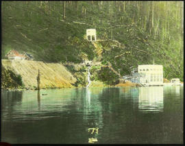 """Alouette powerhouse, Stave Lake; Burrard Power Company""."