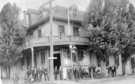 the Grand Pacific Hotel in Kamloops, later became the Central Hotel