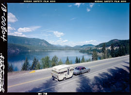Highway #3 At Moyie Lake