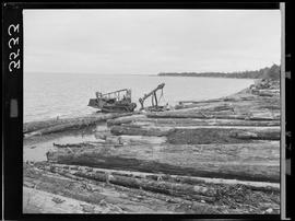 Booming Grounds At Sandspit, Queen Charlotte Islands