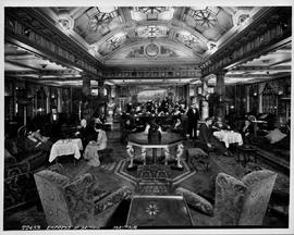 Empress of Britain; Mayfair, the  first class lounge.