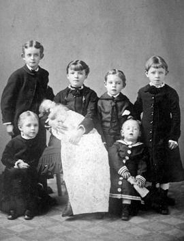 Children of Richard Wolfenden and first wife, Kate, nee Cooley.