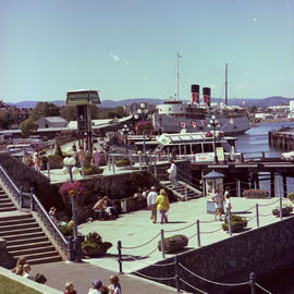 The south end of the causeway on Victoria's Inner Harbour.