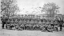 Officers of the 88th Victoria Fusiliers.
