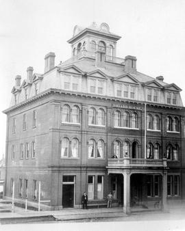 Driard House, Victoria; formerly the St. George Hotel, the forerunner of the Driard Hotel.