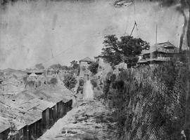 [Canton, China] 15)  West gates from outside the Wall, the attack of the Chinese was from the fro...