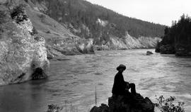"""Soda Creek Canyon, Fraser River; George V. Copley""."